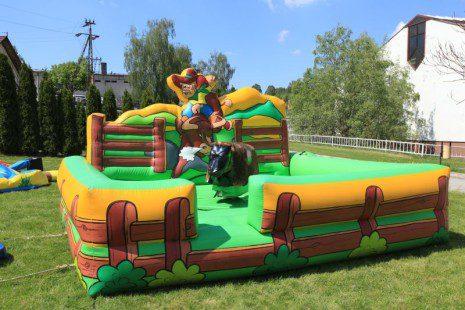 organizacja imprez integracyjnych - byk rodeo