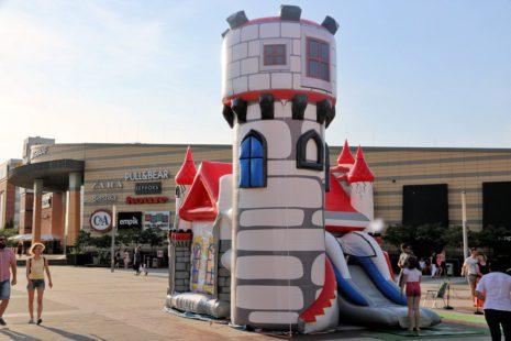 Organizacja festynów dla dzieci, zamek